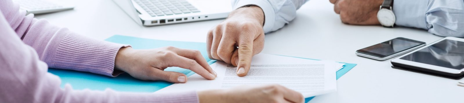 Hands on contract for property investment