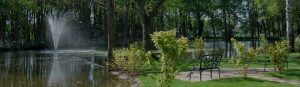 Gardens with lake and fountain Houses for sale