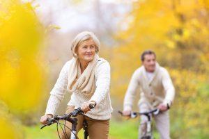 Part Exchange - Mobile couple on bikes
