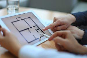 floorplans on ipad New builds