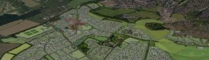 Chilmington Green site plan