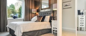 Bedroom Grosvenor Mansions at Viridium