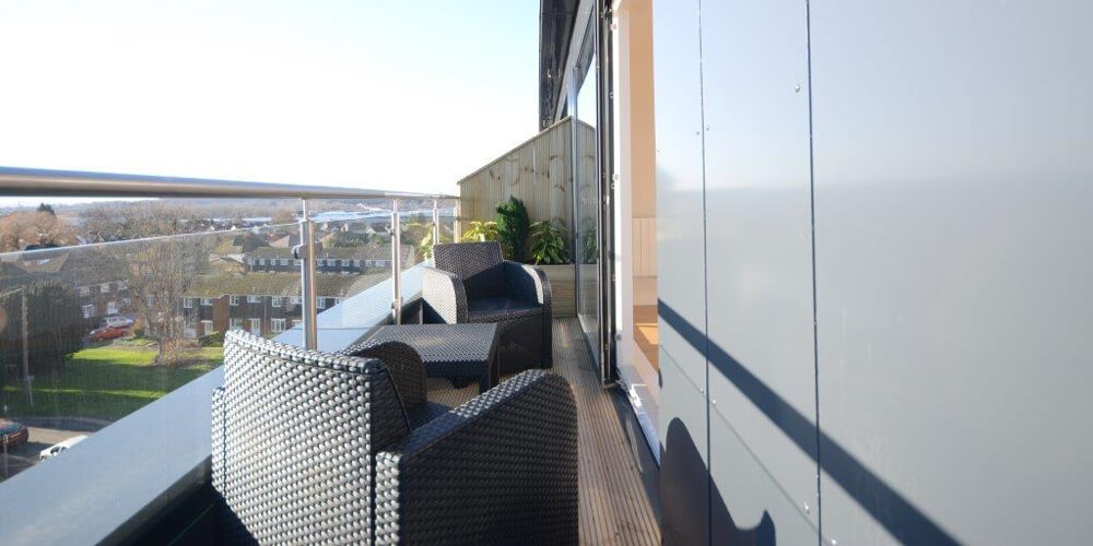 Terrace views from Hodson Developments