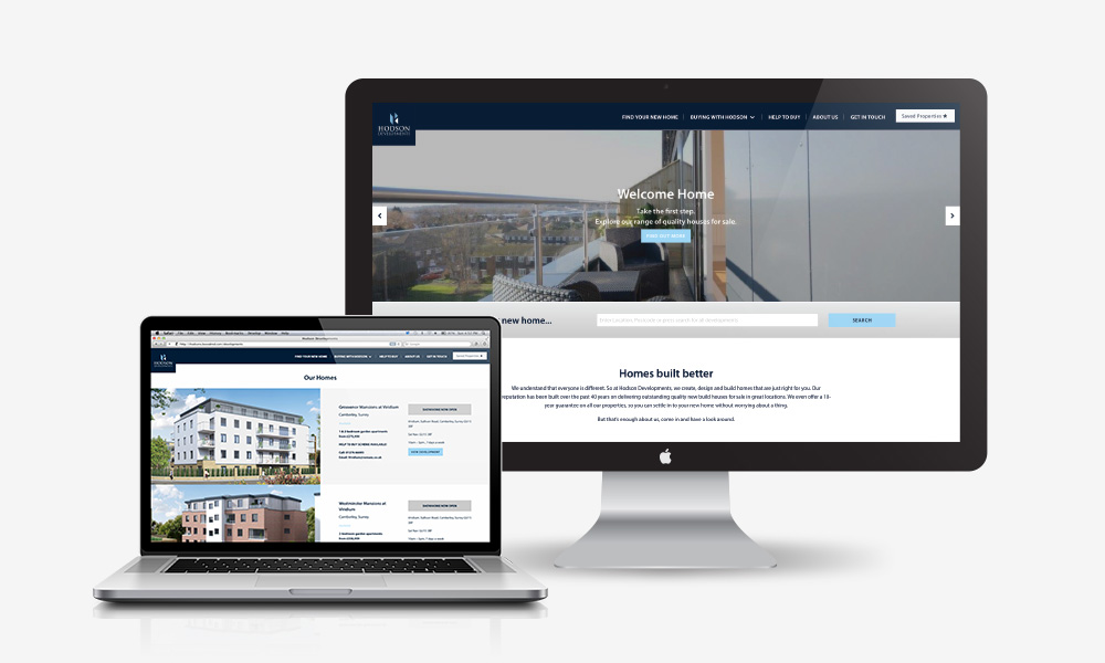Hodson Developments new website