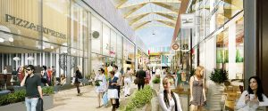 Shopping centre The Fitzroy Collection, Bracknell from Hodson Developments