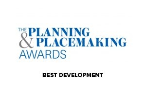 Planning & Placemaking award winner logo - Hodson Developments