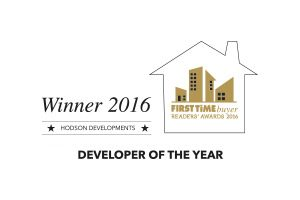 First Time Buyers developer of the year 2016 logo Hodson Developments