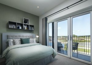 Hodson developments bedroom